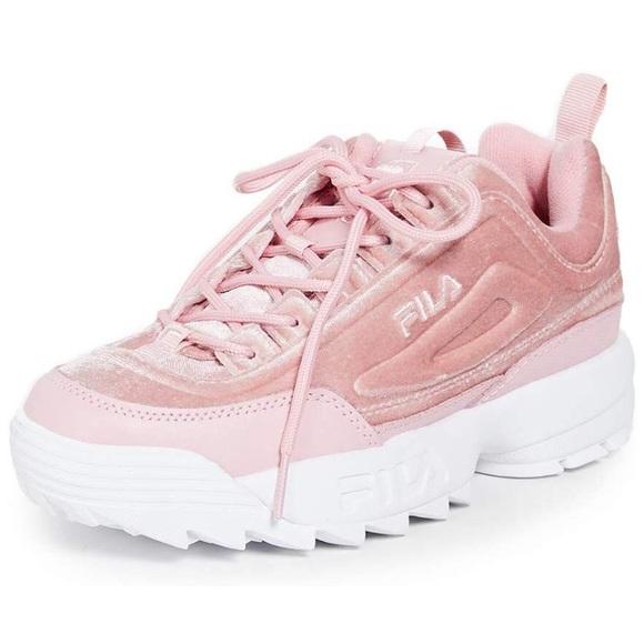Fila Womens Disruptor Ii Sneaker Pink